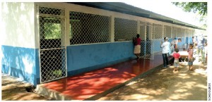 The Shirley Case School in Monte Olivo in rural northwestern Nicaragua now holds classes for 118 students.