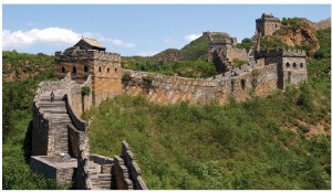The Chinese — the world's master wall-builders who erected the Great Wall of China, pictured above, to protect the northern borders of the Chinese Empire — have erected a retaliatory wall to keep out North Korean refugees.