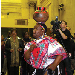 The African group of ambassadors and high commissioners hosted their annual Africa Day, which included dancers and drummers, at the Government Conference Centre May 16. (Photo: Sam Garcia)