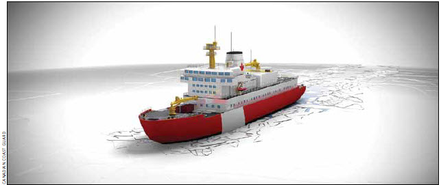 Category: New polar icebreaker, non-combat