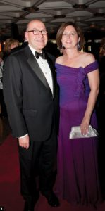 American Ambassador David Jacobson and his wife, Julie, attended the NAC Gala this fall. (Photo: Dyanne Wilson)