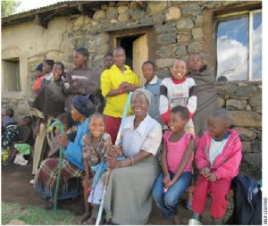 Grandmothers and the orphans they raise meet to share what they're learning.