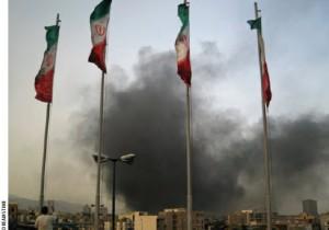 Post-election turmoil in Tehran in 2009.