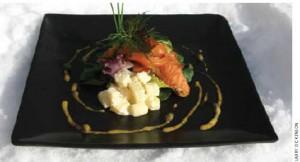 Norwegian marinated salmon
