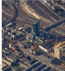 Switzerland tops the list. Here, industrial Zurich is shown.