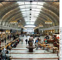 Sweden's government institutions receive high praise from the World Economic Forum. This is Stockholm's central railway station.
