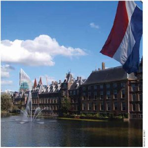 The Netherlands (shown here are parliamentary buildings in The Hague) combines efficient markets, excellent schools and world-class infrastructure.