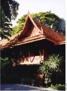 One of Bangkok's most visited landmarks — the extraordinary canal-side residence Jim Thompson built for himself.