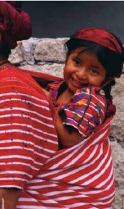 Guatemala is famous for its inexpensive and vividly patterned handwoven textiles.