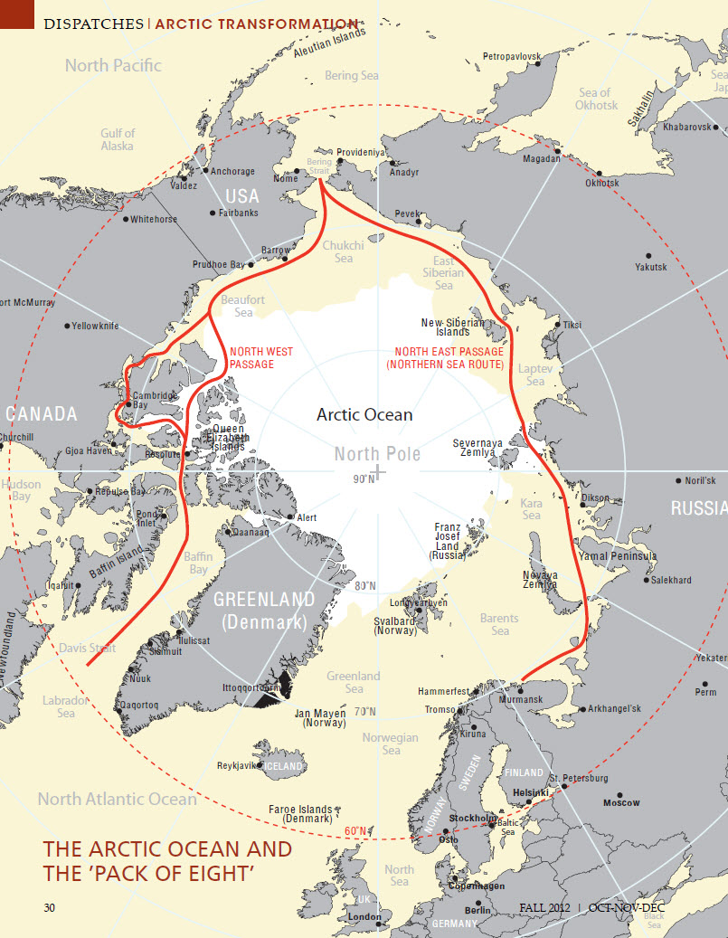 The Arctic opening: Opportunities and risks in the high north