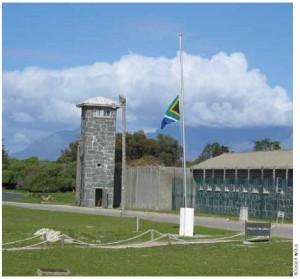Nelson Mandela spent nearly 27 years behind bars on Robben Island.