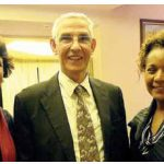 Moroccan Ambassador Nouzha Chekrouni hosted a dinner in honour of Lahcen Daoudi, her country's minister of higher education and scientific research. From left, Habiba Chakir, president of Université Sans Frontières Canada, Mr. Daoudi and Michaelle Jean, chancellor of the University of Ottawa.