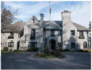 """The residence of the ambassador of Korea, on Acacia Avenue in Rockcliffe Park, is known as """"Greystone."""""""