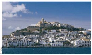 Ibiza is one of the jewels of the Balearic Islands, in the Mediterranean.