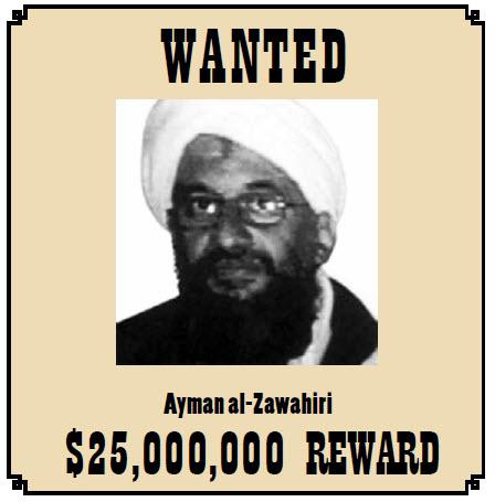 If bin Laden was the ideological leader of al-Qaeda, Ayman al-Zawahiri is its tactical leader. He remains at large.