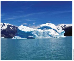 Los Glaciares National Park is one of the best places to see glaciers.