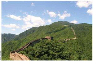 The Great Wall of China is 8,850 kilometres in length and was built by millions of slaves.