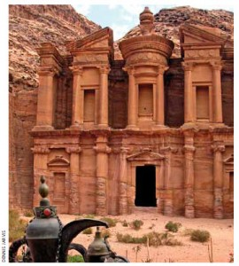 The Monastery (Al Dier) in Petra, Jordan, has a powerful, hypnotic effect on visitors.