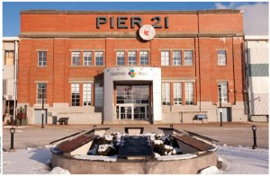 Pier 21, which served as an ocean liner terminal and immigration shed between 1928 and 1971, is now Canada's National Museum of Immigration in Halifax, N.S.
