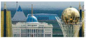 Akorda Presidential Palace in Astana.