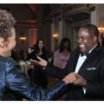 Former governor general Michaëlle Jean takes to the dance floor with Zambian High Commissioner Bobby M. Samakai, President, Ottawa Diplomatic Association.