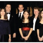 The Children's Wish Foundation was the ball's chosen charity this year. From left, Joy Noonan, board member; Councillor Mathieu Fleury, board member; Julie Thibeault, board member; Ian F. Smith, chair of the board; Anthony Woods, board member; wish child Ashley Lawrence, Sue Walker, Ottawa chapter director; and Ashley's family — Megan, Doug and Lisa Lawrence.