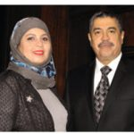 Yemeni Ambassador Khaled Mahfoudh Bahah and his wife, Rima.