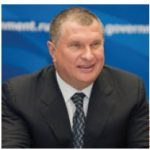 Moscow's second most influential man, Igor Sechyn, is the president of Rosneft and Rosneftegaz.