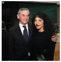 To mark the anniversary of Chilean independence, Ambassador Roberto Ibarra hosted a national day reception at Ottawa City Hall. He's shown with soprano Julie Nesrallah.