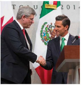 "Canada's imposition of temporary visa requirements on a ""friendly country"" has been an effective, if blunt, way for Canada to stop potential asylum-seekers. But Prime Minister Stephen Harper heard again at the Three Amigos Summit hosted by Mexican President Enrique Peña Nieto, that it comes with a price in Canada's bilateral relations with Mexico."