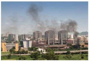 Multinational oil companies began exploiting Nigerian oil in the 1950s. Shown here is Abuja, the capital.