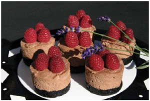 Margaret's Raspberry Toblerone Cheesecake
