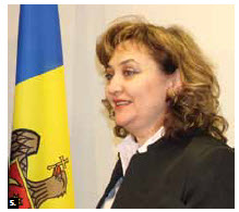 Moldovan Ambassador Ala Beleavschi hosted a vin d'honneur to mark the official visit of her country's deputy prime minister and Foreign Affairs Minister  Natalia Gherman. (Photo: Sam Garcia).