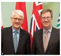 Netherlands Ambassador Cornelis Johannes Kole paid a courtesy call on Mayor Jim Watson. (Photo: City Hall)