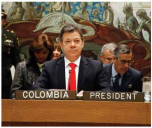 Colombian President Juan Manuel Santos's country has been at the helm of the Pacific Alliance for the past year. This month, Mexico took over the role.