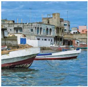 For adventure-seeking travellers, Senegal's capital, Dakar, pulsates with unexpected activity.