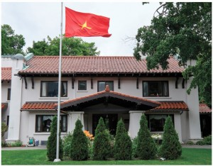 Vietnamese Ambassador Anh Dung To and his wife, Tran Phi Nga, love their Spanish Colonial Revival home in the Glebe.