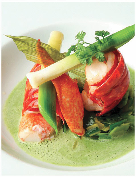 An example of French gastronomy, by Chef Jacques Lameloise