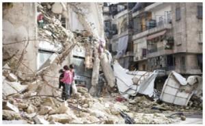 Aleppo, Syria, has seen widespread destruction.
