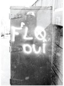 The October Crisis, involving the FLQ (Front de libération du Québec) took place in Quebec in 1970.