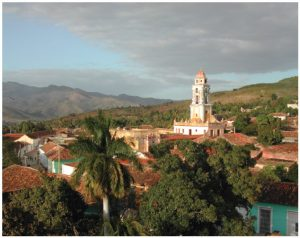 The city of Trinidad, where the ambassador was born, was named a World Heritage Site by UNESCO in 1988.