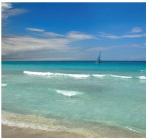 Varadero Beach is the country's most famous vacation spot.