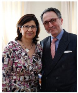 Raoul Delcorde and his wife, Fati Delcorde, arrived in Canada in August 2014.