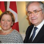 On the occasion of the national day of Spain, Ambassador Carlos Gomez Mugica and his wife, Maria de la Rica Aranguren, hosted a reception at their residence. (Photo: Ülle Baum)