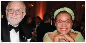 Former governor general Michaëlle Jean and her husband, Jean-Daniel Lafond, attended the ODA ball. (Photo: Ülle Baum)