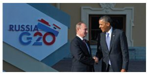 As Russian President Vladimir Putin expands Russia's influence in the Middle East, U.S. President Barack Obama's relations with his allies and friends in the region have fractured. (Photo: G20)