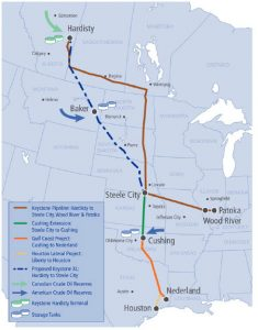 The Keystone XL Pipeline is a proposed 1,897-kilometre (1,179-mile) crude oil pipeline that  begins in Hardisty, Alta., and travels south through to Steele City, Neb. (Photo: TransCanada)