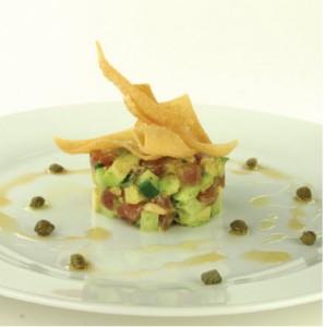 Margaret Dickenson's tuna sashimi salad