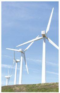 Electricity-generating wind turbines contain pure rare-earth metals. (Photo: © Raquel Pedrosa   Dreamstime.com)