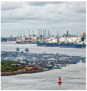 Lagos, Nigeria: Most of Nigeria's 170 million people are extremely poor, though exports of crude oil generate billions of dollars in revenue every year, writes author Tom Burgis. (Photo: © Igorspb | Dreamstime.com)